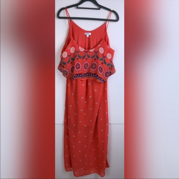 Charming Charlie Dresses & Skirts - Charming Charlie Sleeveless Print Boho Dress 2037